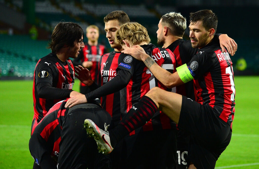 Celtic v AC Milan: Group H - UEFA Europa League